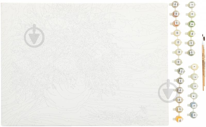 Набор для творчества Роспись по холсту Букет Ranok-creative - фото 2