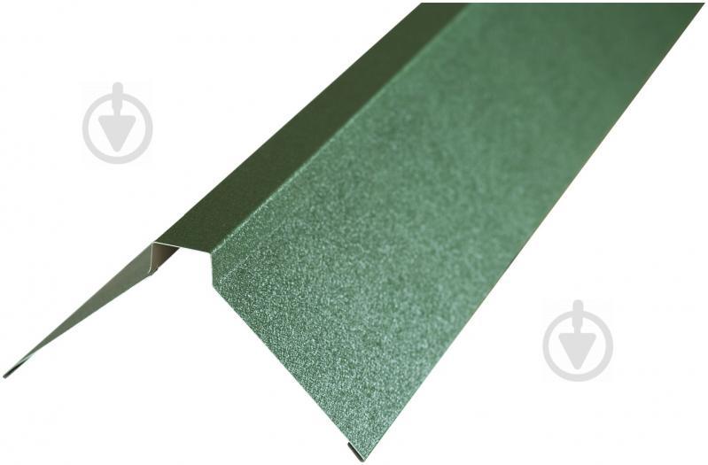 Планка конька матова PSM RAL 6020 зелена 2м - фото 1