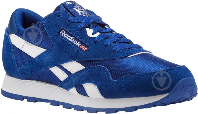 Кроссовки Reebok CL NYLON CN1267 р.37 темно-синий - фото 1