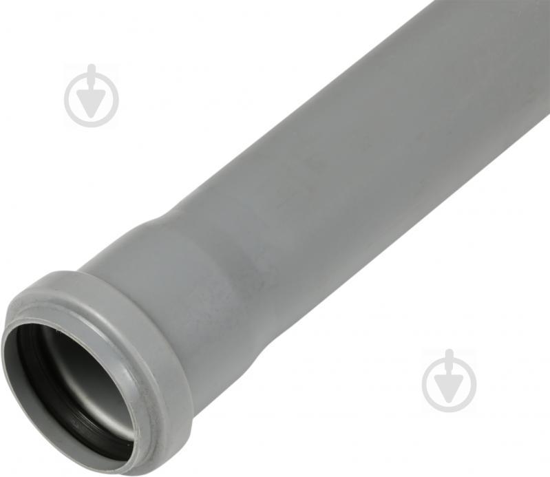 Труба каналізаційна ValRom ПП d50х2000 мм - фото 1