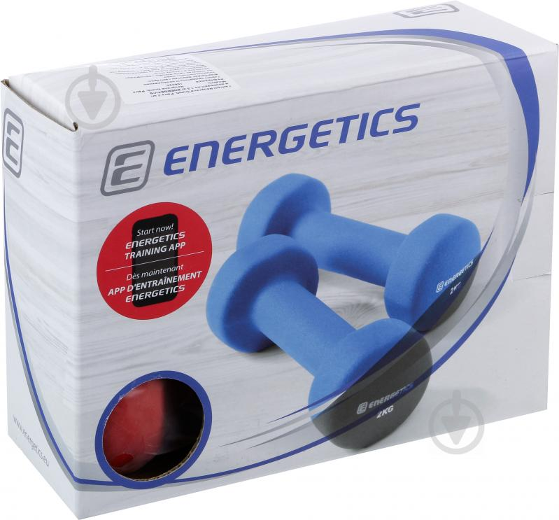 Гантели Energetics 106225 Neoprene Dumb 2 шт. x 1.5 кг - фото 3