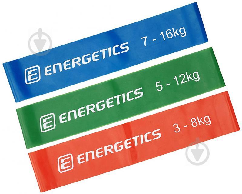 Набор мини-лент для фитнеса Energetics 3 шт. 256902 - фото 1