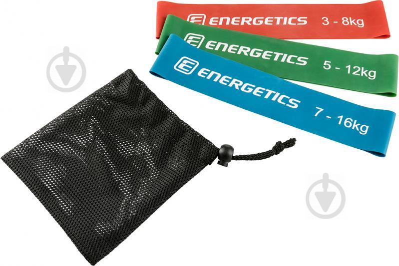 Набор мини-лент для фитнеса Energetics 3 шт. 256902 - фото 2