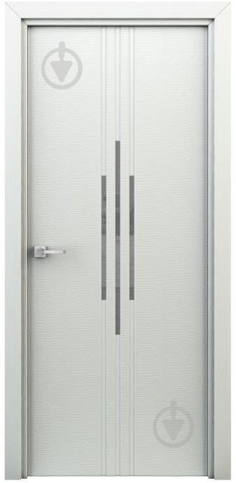Дверне полотно ІД-Україна Сафарі ПО 800 мм білий - фото 1