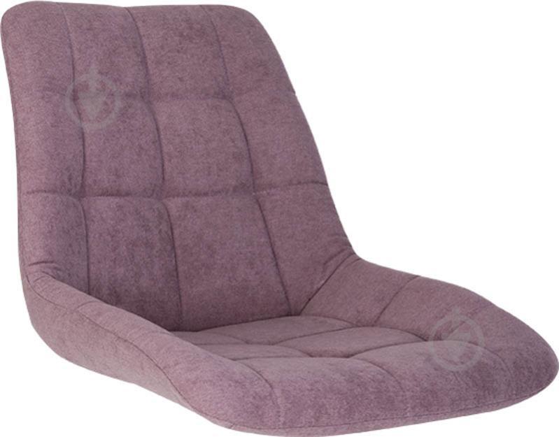 Сидіння для стільця NICOLE (BOX-4) (CH) SORO-65 тканина фіолетовий Nowy Styl