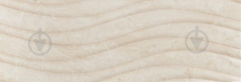 Плитка Карпатська Кераміка Глорія бейге хвиля 25х75 - фото 1