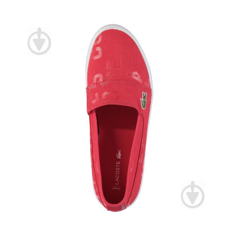 Кеды Lacoste 733CAW1038047 р. 5 красный - фото 2