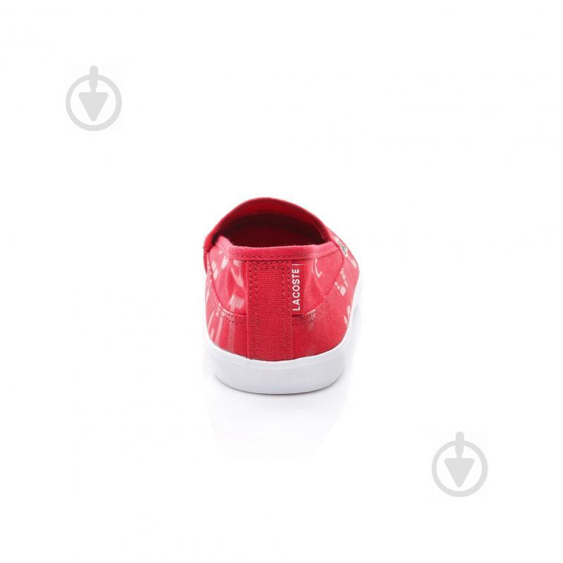 Кеды Lacoste 733CAW1038047 р. 5 красный - фото 4