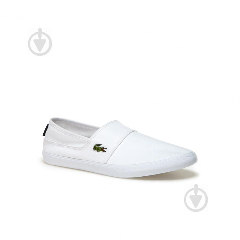 Кеды Lacoste 733CAM1071001 р. 7,5 белый - фото 1