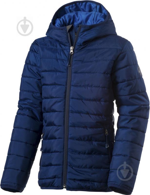 Куртка McKinley Ricon jrs 116 темно-синий - фото 1