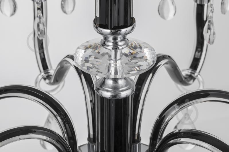 Люстра подвесная Victoria Lighting 8x40 Вт E14 черный Arumi/SP8 - фото 10
