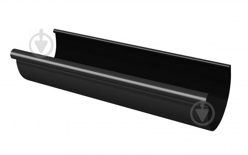 Желоб водосточный RAINWAY графитовый Rainway 130 мм 3 м графит