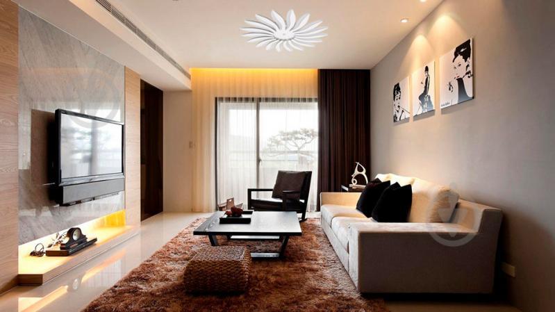 Люстра светодиодная ALLA-lighting Sanflower с пультом ДУ 72 Вт белый - фото 6