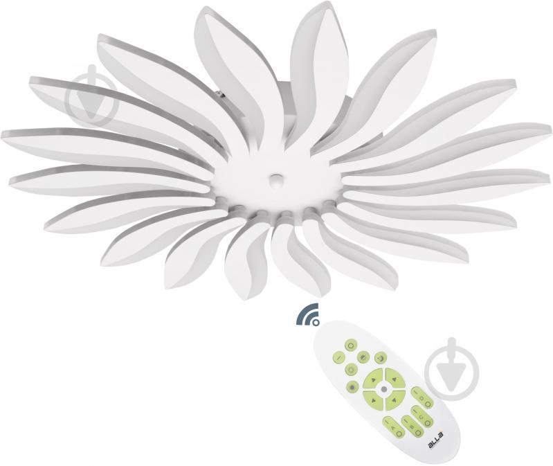 Люстра светодиодная ALLA-lighting Sanflower с пультом ДУ 72 Вт белый - фото 1