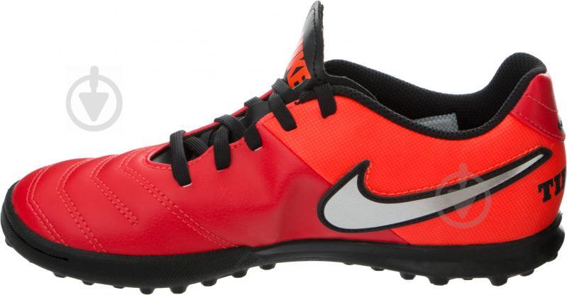 Футбольні бутси   Nike  Tiempo Rio III 819197-608   р. 5  червоний - фото 3