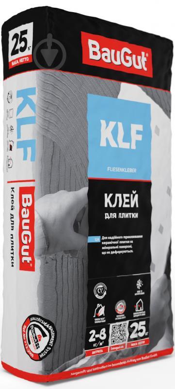Клей для плитки BauGut KLF 25кг - фото 1