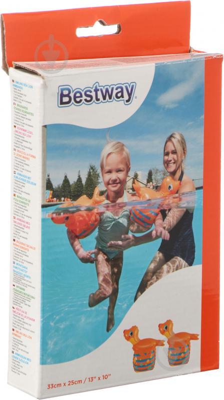 Нарукавники Bestway 32117 для плавання Морський котик - фото 1