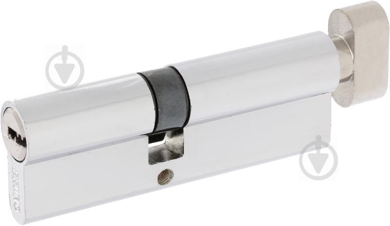 Цилиндр Bruno 40x50 ключ-вороток 90 мм хром