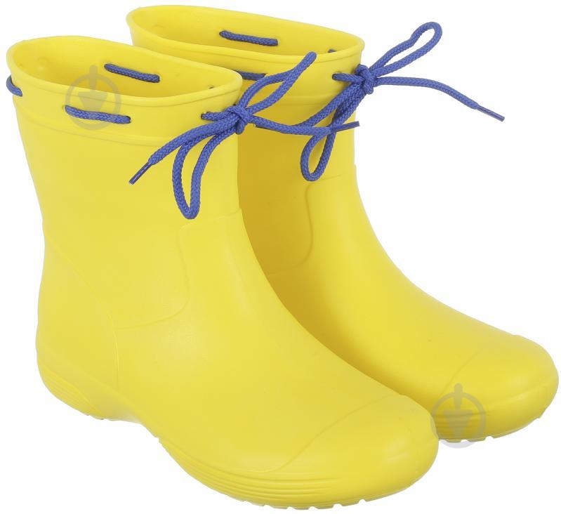 Чоботи Jose Amorales литі з полімерних матеріалів р.38 жовтий