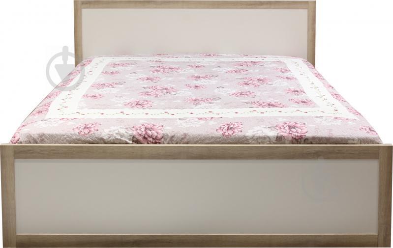 Ліжко Aqua Rodos Malaga 160x200 см дуб сонома білий - фото 2