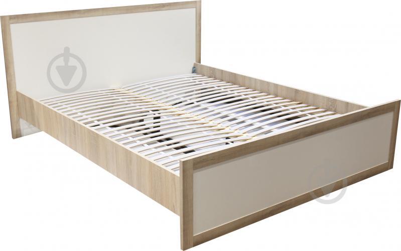 Ліжко Aqua Rodos Malaga 160x200 см дуб сонома білий - фото 3