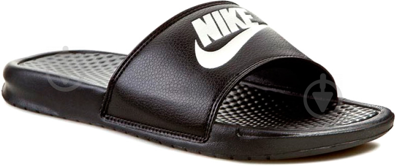 Шлепанцы Nike Benassi Jdi 343880-090 р. 13 черный - фото 1
