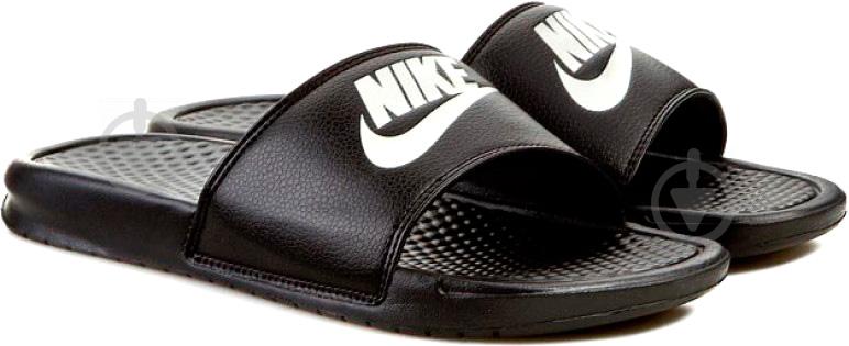 Шлепанцы Nike Benassi Jdi 343880-090 р. 13 черный - фото 7