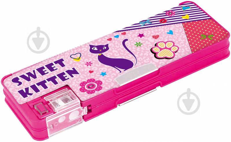 Пенал Sweet Kitten c точилкой CF85520 Cool For School разноцветный - фото 1