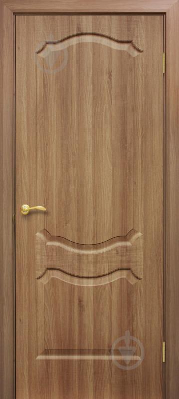 Дверне полотно ОМіС Прима ПГ 800 мм дуб золотий - фото 1