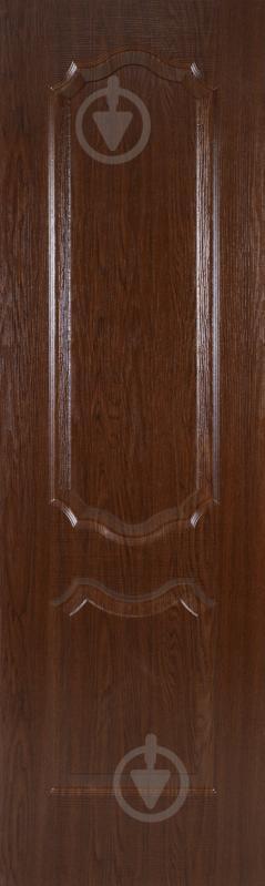Дверне полотно ПВХ ОМіС Прима ПГ 600 мм каштан - фото 2