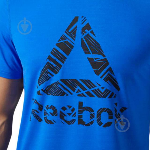 Футболка Reebok р. XL синий BQ3855 - фото 3