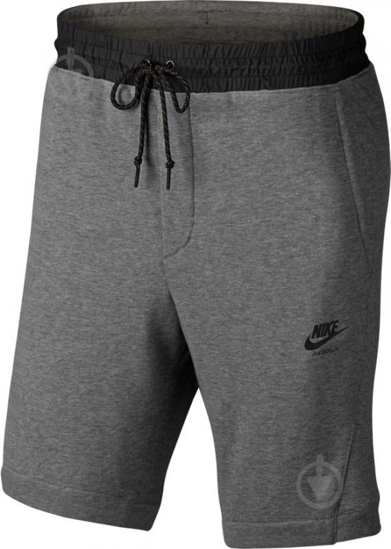 Шорты Nike M NSW SHORT AIR MAX FT 886079-091 р. S серый - фото 1