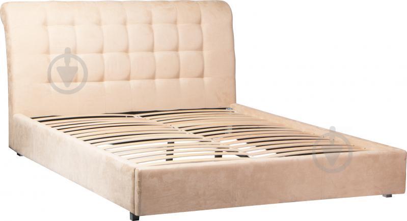 Кровать Embawood Coffe Time Caramel 160x200 см кремовый - фото 1
