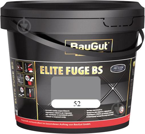 Фуга BauGut Elite BS 52 2 кг темно-серый - фото 1