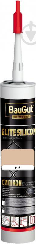 Герметик силиконовый BauGut Silicon Elite 63 багама 300мл - фото 1