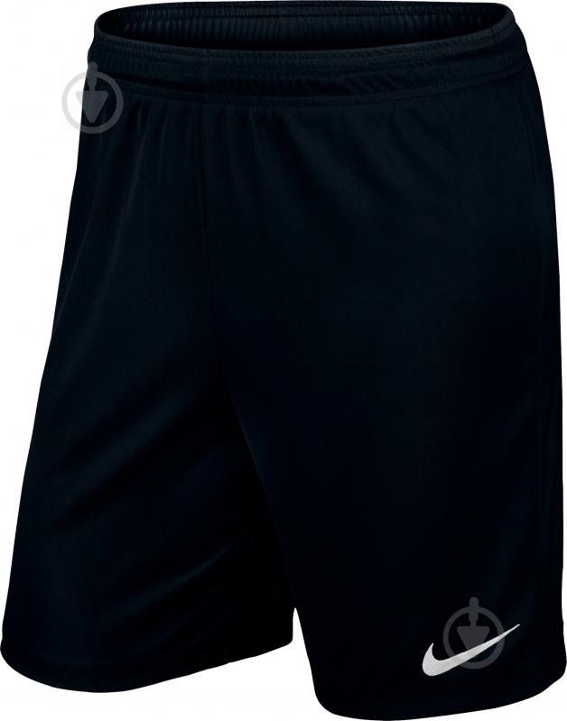 Шорты Nike YTH PARK II KNIT SHORT NB р. XL черный 725988-010 - фото 1