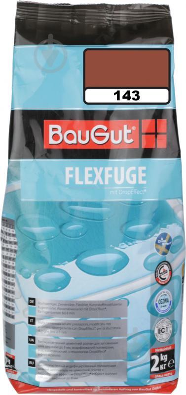 Фуга BauGut flexfuge 143 2 кг терракот - фото 1