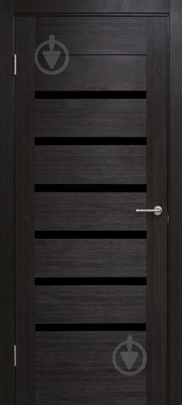 Дверне полотно ПВХ ОМіС Лагуна ПГО 700 мм венге - фото 1