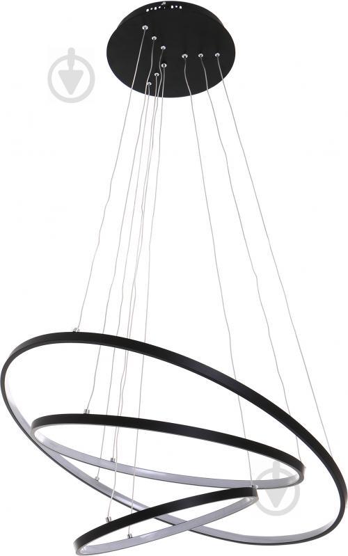 Люстра светодиодная Victoria Lighting 135 Вт черный Lanzo/SP3 black - фото 1