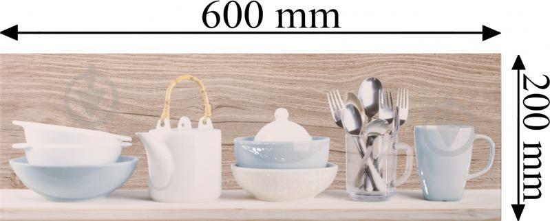Плитка Cersanit Форест Соул инсерто кухня В декор 20x60 - фото 5