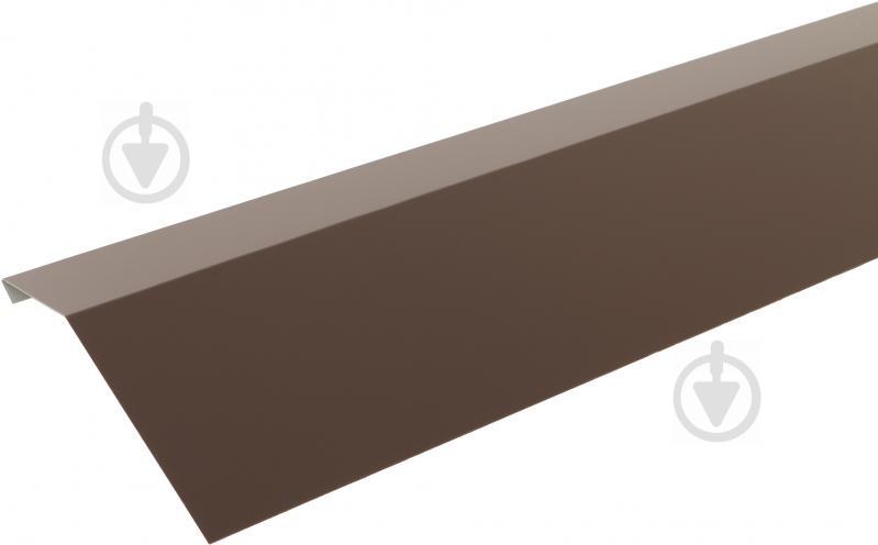 Крапельник глянцевий Європрофіль RAL 8017 коричневий