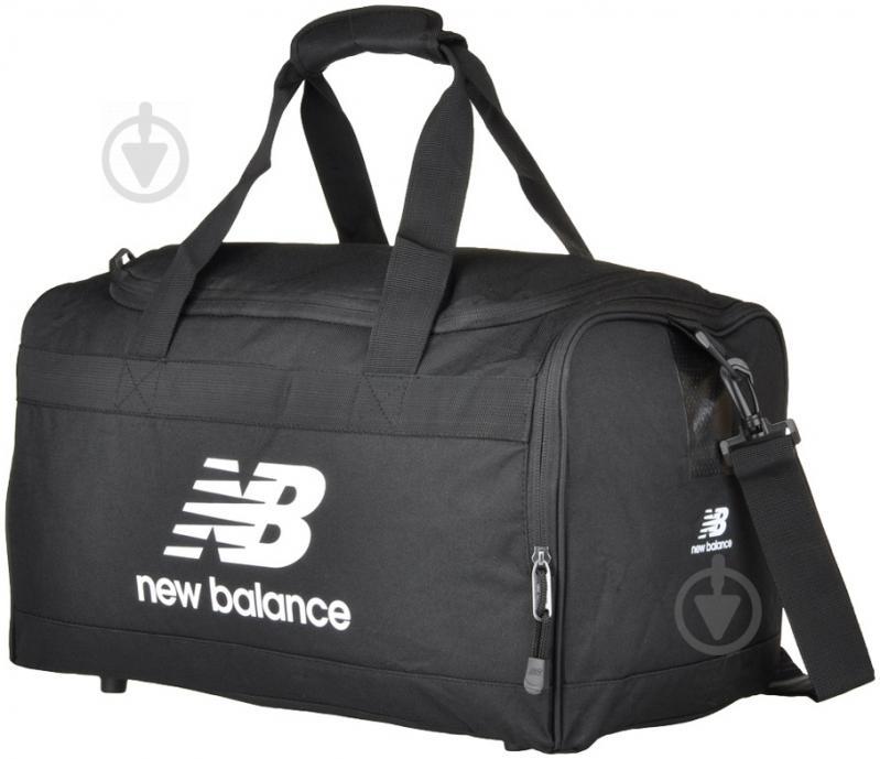 Спортивная сумка New Balance Solar Holdall 9974 черный - фото 1