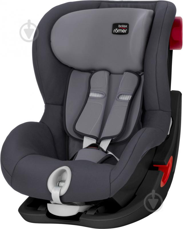 Автокресло Britax-Romer King II Black Series storm gray 2000027559 - фото 1