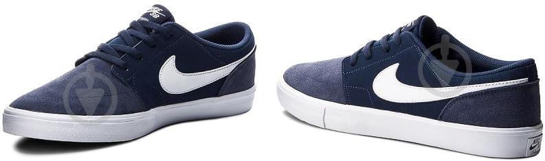 7df024a5 Кроссовки Nike SB PORTMORE II SOLAR 880266-410 р. 10 синий - фото 6