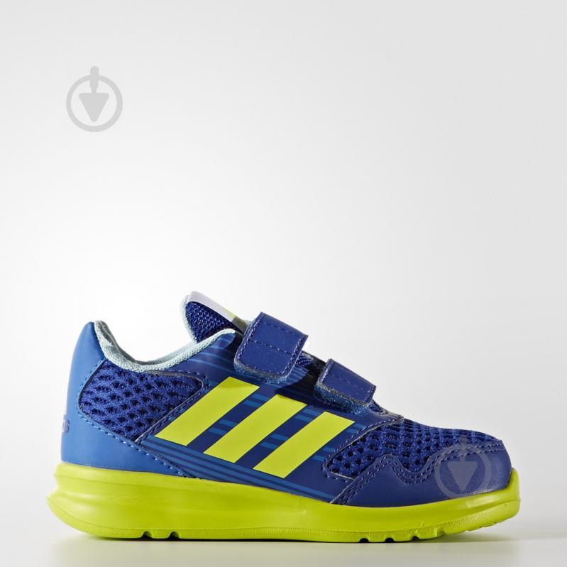 Кроссовки Adidas AltaRun CF I CQ2458 р.27 синий - фото 1