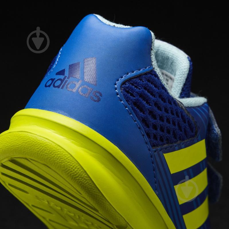 Кроссовки Adidas AltaRun CF I CQ2458 р.27 синий - фото 6