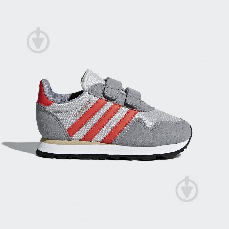 Кроссовки Adidas HAVEN CF I CQ3153 р.24 серый - фото 1
