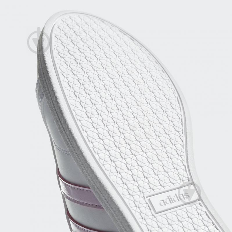 Кроссовки Adidas CONEO QT DB0132 р.4,5 белый - фото 9