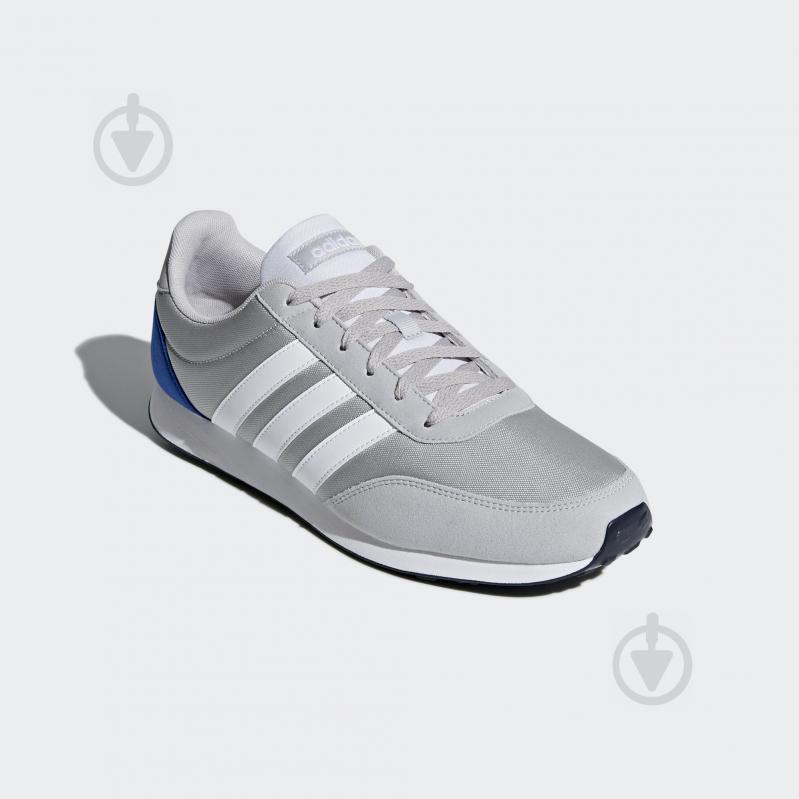 Кроссовки Adidas V RACER 2.0 DB0426 р.7,5 серый - фото 4