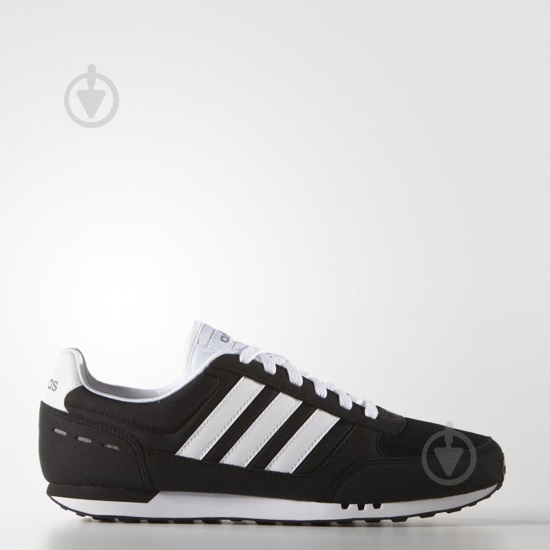Кроссовки Adidas NEO CITY RACER 17 F99329 р.7,5 черный - фото 1